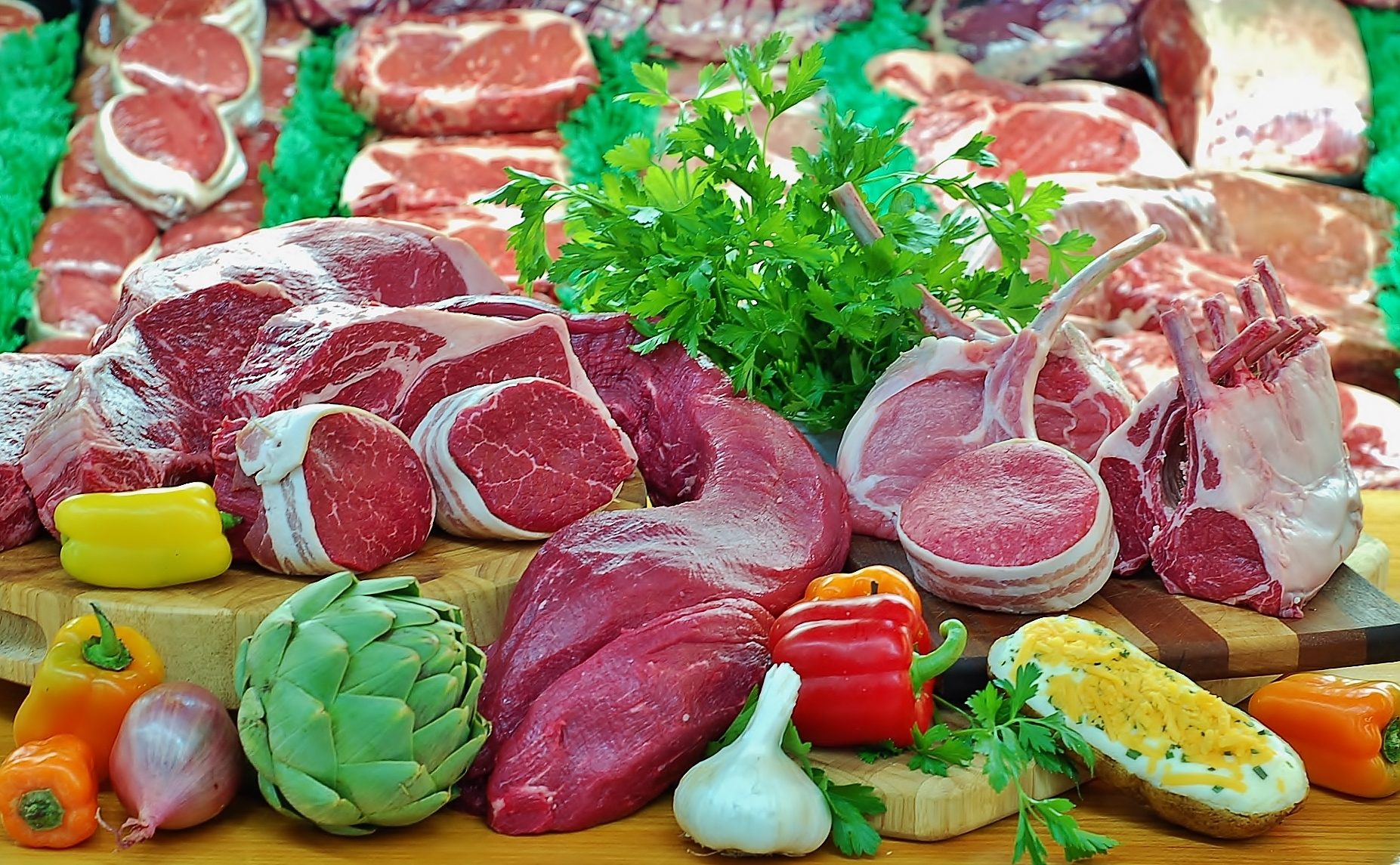 Meat Department Butler & Bailey Market