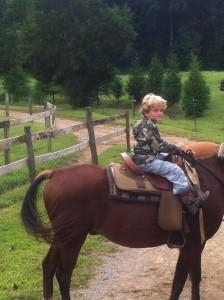 lauren on a horse