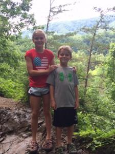 Lauren and Tyson Smokie Mountains