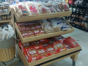 new deli bread rack