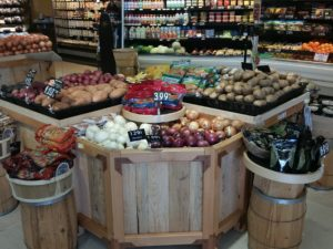 new produce table