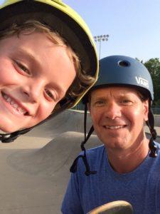 tom and tyson skateboarding