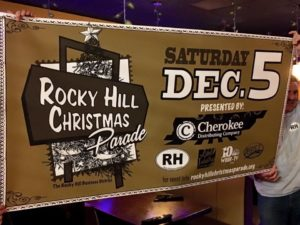 rocky hill christmas parade poster